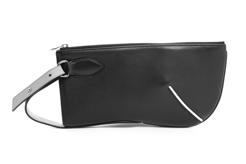 Half Moon Clutch (Black)